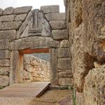 Das Löwentor ist der Eingang zur Festung von Mykene