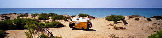 Camping auf dem Peloponnes