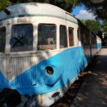 Alter Zug im Eisenbahnmuseum