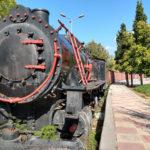 Alte Lok im Eisenbahnmuseum