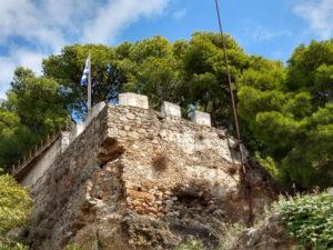 Die Burg von Kalamata