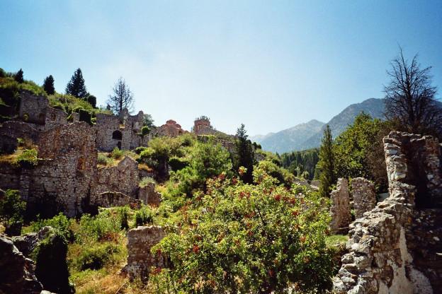 Festungsanlagen von Mystras