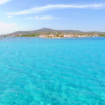 Türkisfarbenes Wasser vor Elafonisos