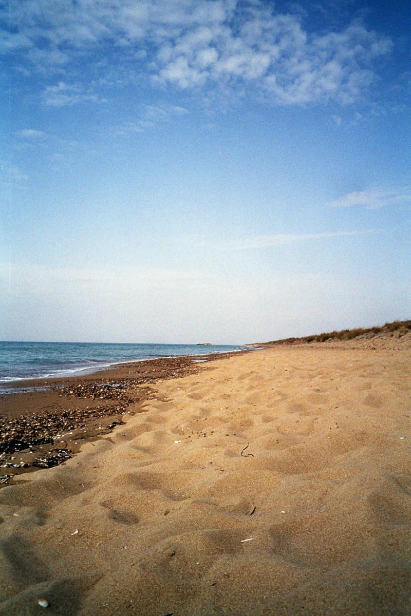 Glyfa Beach ist eine interessante Alternative im Nordwesten des Peloponnes.