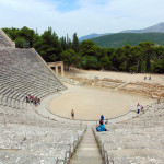 Das prachtvolle Theater von Epidauros.