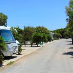 Wohnmobil-Stellplätze auf Simos Camping.