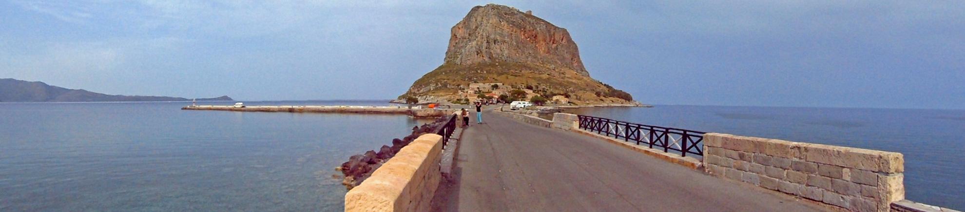 Der Weg zur Altstadt von Monemvassia
